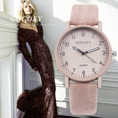 Lasting Women's Watches Fashion Leather Wrist Watch Women Watches Ladies Watch Clock pink