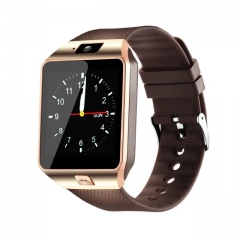 Smart Watch Smartwatch Passometer Support SIM TF Card Smartwatch DZ09 Reminder Smart Watch for Phone golden