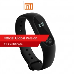 Xiaomi Mi Band 2 Miband 2 Heart Rate Monitor Fitness Tracker Touchpad OLED for IOS Android Bracelet black standard