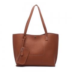 Women Bag New Fashion Women's Bag Single Shoulder Handbag Multifunctional Slant Bag Tooth Bag brown 33 * 10 * 27cm