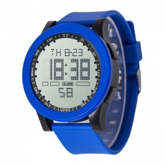 Fashion Men's LED Waterproof Digital Quartz Military Luxury Sport Date Time Clock Electronic Watches blue