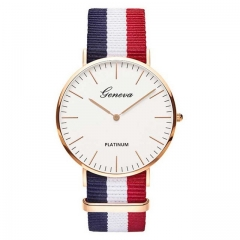 Hot Sale Nylon strap Style Quartz Women Watch Top Brand Watches Fashion Casual Fashion Wrist Watch c