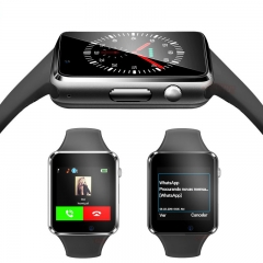 Luxury SmartWatch Bluetooth Wrist Watch Sport Watch Camera MP3 MP4 SIM card Mobile Phone Watches Men black