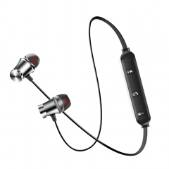 Wireless Headphone Bluetooth Headphone For Phone Neckband sport earphone Auriculare CSR Bluetooth Silver