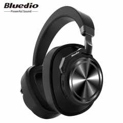 BluedioT6 Active Noise Reduction Headset Bluetooth Headset Stereo Music Wireless Headset black