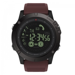 New Zeblaze VIBE 3 Flagship Rugged Smartwatch 33-month Standby Time 24h All-Weather Monitoring Burgundy
