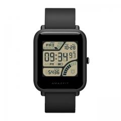 International Version Xiaomi Huami AMAZFIT Bip Smartwatch GPSHeart Rate Monitor Geomagnetic Sensor black