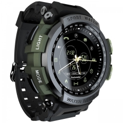 Sport Smart Watch Professional 5ATM Waterproof Bluetooth Call Reminder    For ios and Androi green