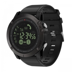 VIBE 3 GMT Two Places All-day Activity Record Sport 33 Month Long Standby Information Reminder black