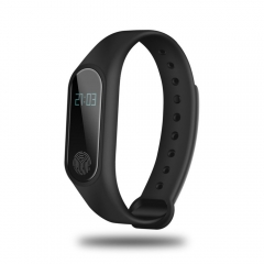 OLED Touch Screen BT 4.0 Bracelet Fitness Tracker Heart Rate Sleep Monitoring Pedometer black