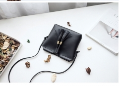 Autumn and Winter 2018 New Liuzhou Single Shoulder Key Mobile Bag black 1
