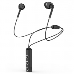 BT313 Wireless Bluetooth Earphone In Ear Headphone Magnetic Sports Bass Headset black