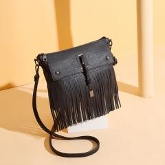 Autumn and Winter New Women's Bag Fashion Women's Single Shoulder Fashion Bag black 1