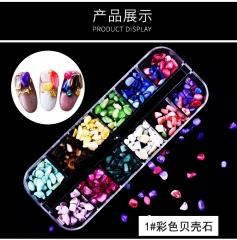 New nail ornaments all kinds of special-shaped drill magic pearl horse bright eye nail 1