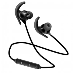 Newest Bluetooth V4.1  with Mic Wireless Earphones Sports IPX4 Headphone Stereo Headset For HUawei black