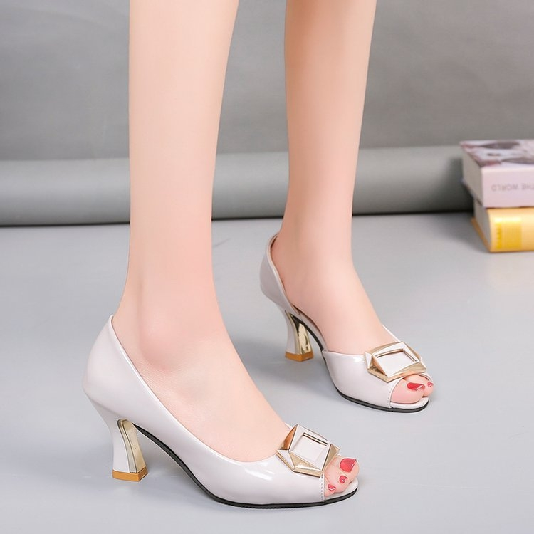82d1c55b4b0876 Platform Pumps Women Peep Toe Sexy High Heels Shoes Wedding Party ...