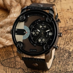 DZ Men's Fashion Wristwatches Casual Creative Outdoors Sports Wristwatch Quartz Watches black