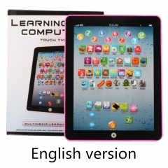 Kids' Tablet Children Computer Learning Education Machine Kids Educational Toys For Gift English version One size