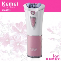 Kemei Washable Portable Epilator Electric Hair Removal Female Body Depilatory Personal Care Machine