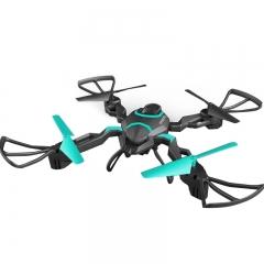 Folding Remote Control Quadcopter HD WIFI Aerial Pressure High Altitude Remote Control Drone Toy black + green one size