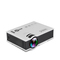 UNIC UC40 Home HD Mini Projector Micro Portable 1080P For Apple Android Phone Projector white as picture