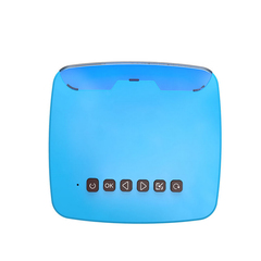 UNIC U20 Portable Mini  Projector Home HD Children's Toys Home Theater Projector blue as picture