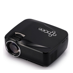 GP70UP Android Smartphone WIFI With Screen Micro LED Home HD 1080P Projector black one size