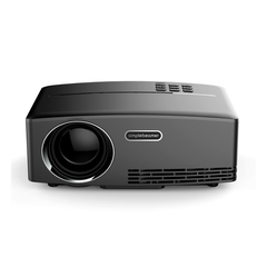 2019 New Home Projector GP80 Supports 1080p HD Portable Home Movie Projector black one size