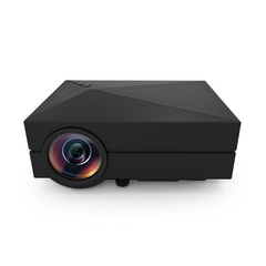 New Home Projector GM60 Micro 1080P HD Projector LED Projector black one size