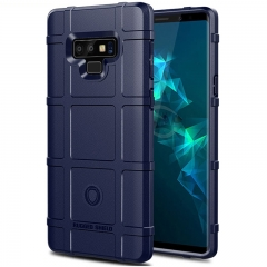 Samsung Galaxy Note 9 Case Rugged Silicone Heavy Duty Armor Shock-Proof Protective Case Cover Blue for Samsung Galaxy Note 9