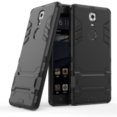 Gionee M6 Gionee M6 Plus M7 S9 Phone Case Rugged Armor Heavy Duty [Drop-protection] with Kickstand sliver for Gionee M6 Smartphone