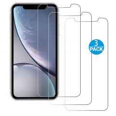 [3-Pack] - iPhone X / 10 5.8-Inch [Bubble Free] [9H Tempered Glass] Screen Protector