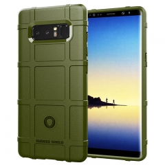 Samsung Galaxy Note 8 Galaxy Note 9 Back Cover Rugged Shield Silicone ShockProof Phone Case amygreen for Samsung Galaxy Note 9