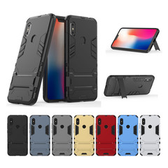 Redmi Note 6 / Note 6 Pro Smartphone Case Rugged Armor [Drop-protection] with Kickstand sliver for Redmi Note 6 / Note 6 Pro Smartphone