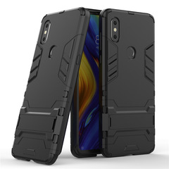 Xiaomi Mi Mix 3 Smartphone Case Rugged Armor [Drop-protection] with Kickstand black for Xiaomi Mi Mix 3 Smartphone