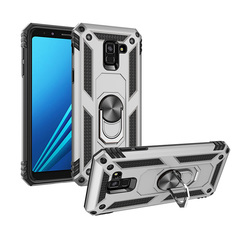 Shinwo - Phone Case for Samsung Galaxy A8 2018 Galaxy A8 Plus 2018 with Car Magnetic Ring Holder rose gold for Samsung Galaxy A8 2018