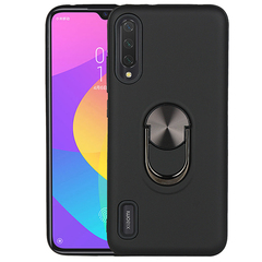Shinwo - Phone Case for Xiaomi Mi A3 Mi CC9e 6.01'' with Car Magnetic Ring Holder black for Xiaomi Mi A3