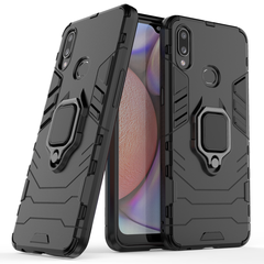 Hot Sale Phone Case for Samsung Galaxy A10S [Drop-protection] with Car Magnetic Ring Holder black for Samsung Galaxy A10S