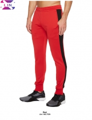 XLIN Outdoor Fitness Sports Pants red m