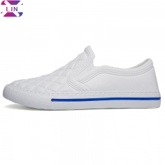 XLIN Brand Fashion Music Lazy People A Pedal Couple Sports Shoes Men And Women Garden Shoes WHITE 36