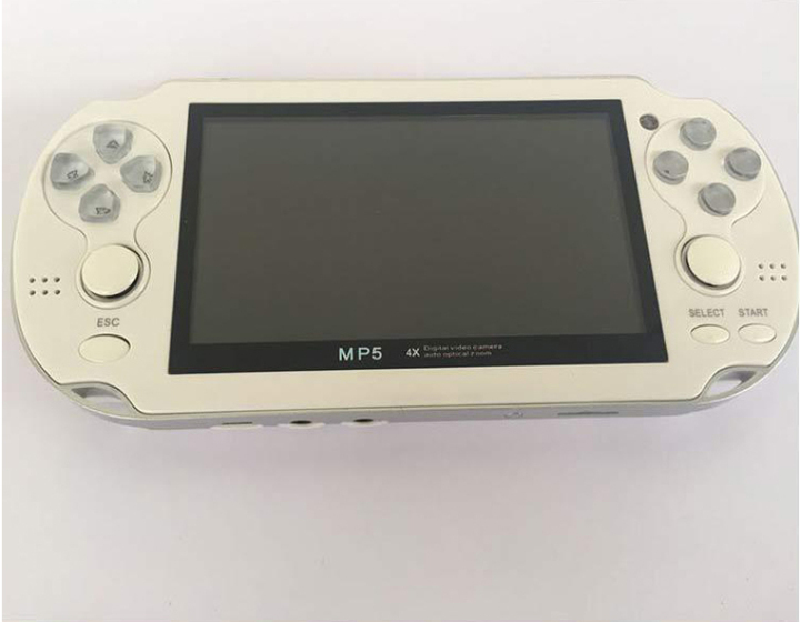 Video Game Console 8GB Free 2000 games 4.3 inch MP5 Players white 8G