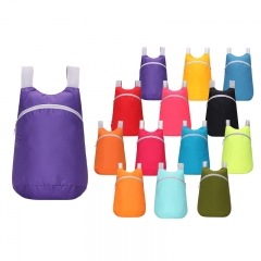 Waterproof Outdoor Bag Travel backpack Light and durable Easy to Carry  Big Capacity 6 Colors Purple Capacity: 20-35L