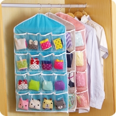 16 Grids Bag Receive Underwear and Socks Storage Organizer Save Vertical Space