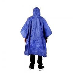 3 in 1 Multifunctional Raincoat Waterproof Camping Picnic Mat Cycling Raincoat  Backpack Rain Cover