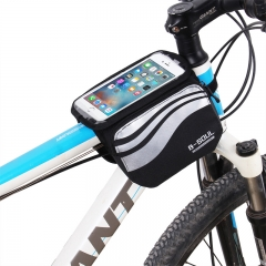 Bicycle Touch Screen Phone Bag MTB Road Bike Mobile Bag Cycling Front Bags 5.7 inch Cellphone Bag