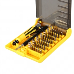 45 In1 Multifunctional Precision Screwdriver Set For Iphone Laptop Camera Mini Screwdriver Set As Picture 45 in 1 suitable for all models one size