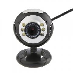USB Computer Camera CMOS Sensor HD Web Camera With Mic Manual Suitable For Desktop Laptop PC