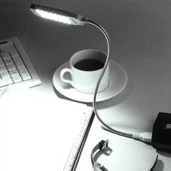 Flexible Mini Bright 28 LED USB Light For Power bank/Laptop PC Computer Lamp Desk Reading Black 28LED 2.5W