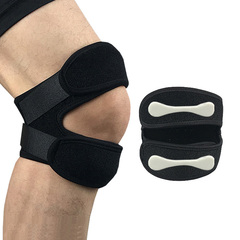 1Pcs Frofessional Sports Kneepads Patella Shock Absorption Protector Band for Basketball Fitness