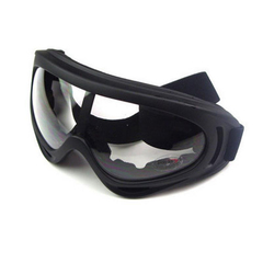 Motocross Goggles UV Protection Outdoor Cycling Sports Windshield Anti-shock Glasses Transparent Lens 18*8cm